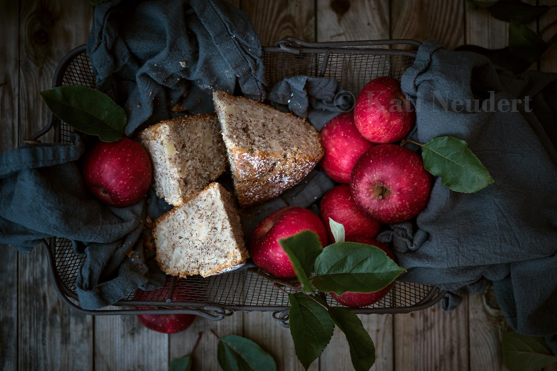 Apfel Griess Kuchen Vegan Zu Tisch